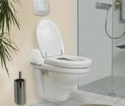 Dusch-WC VAmat geöffnet