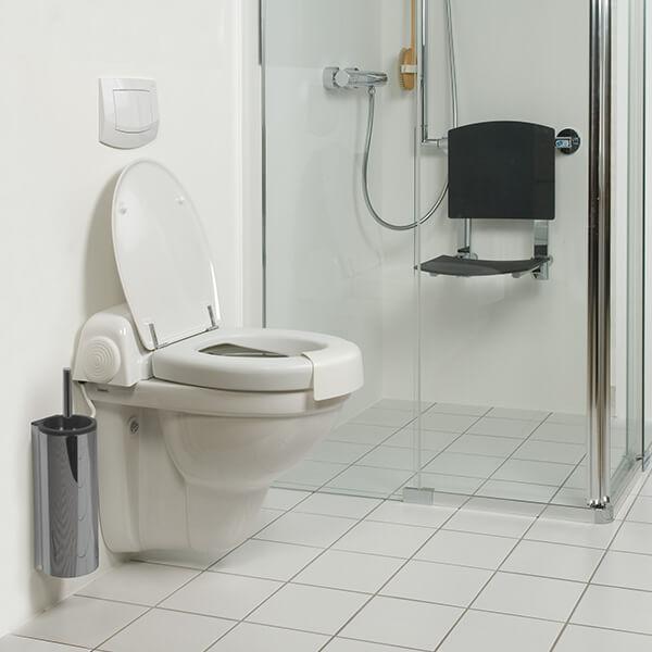 dusch wc aufsatz als komfortable alltagshilfe im bad. Black Bedroom Furniture Sets. Home Design Ideas